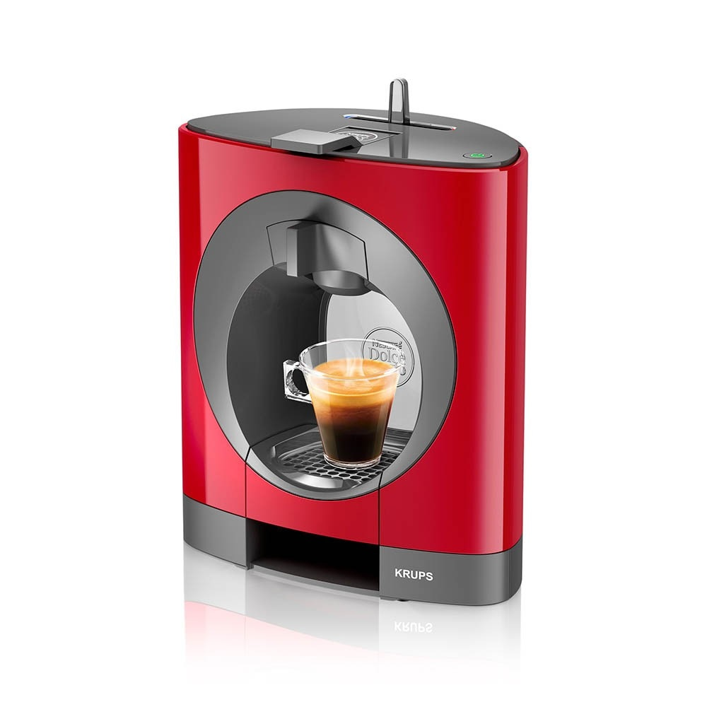 oblo rouge fonc machine caf par krups nescaf dolce gusto. Black Bedroom Furniture Sets. Home Design Ideas