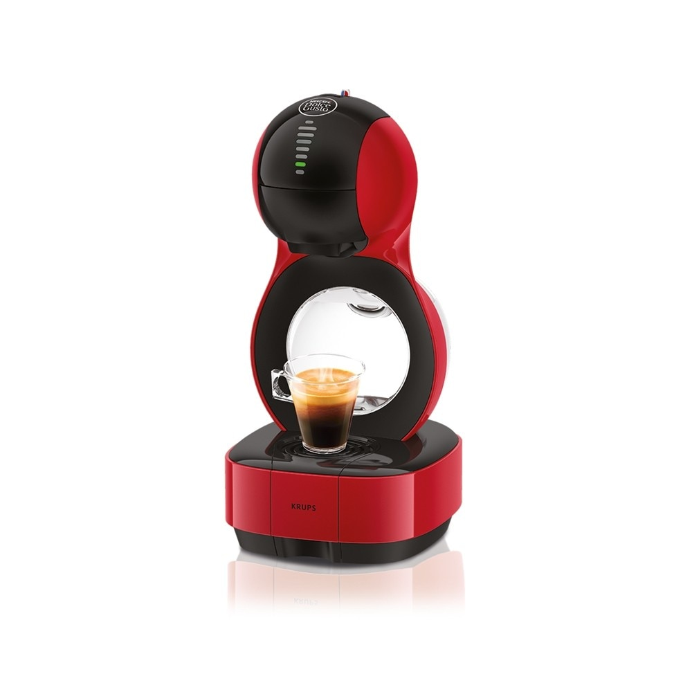 lumio rouge automatique de krups nescaf dolce gusto. Black Bedroom Furniture Sets. Home Design Ideas