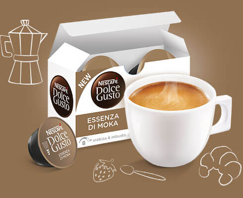 Essenza Cappuccino Packshot