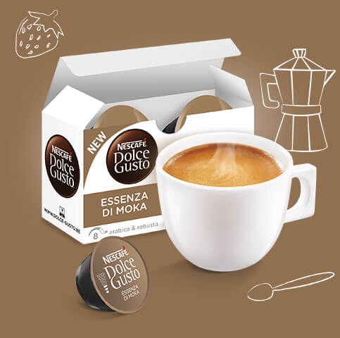 Essenza di Moka Packshot